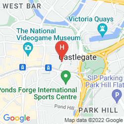 Mapa IBIS SHEFFIELD CITY