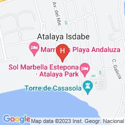 Mapa MARRIOTT'S PLAYA ANDALUZA
