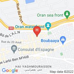 Mapa ROYAL HOTEL ORAN – MGALLERY