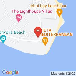Mapa E HOTEL SPA & RESORT CYPRUS