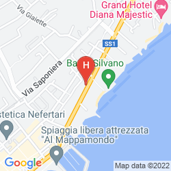 Mapa HOTEL SILVANO