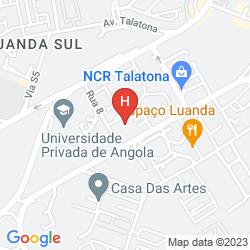 Mapa TALATONA CONVENTION