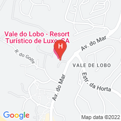 Mapa VALE DO LOBO RESORT