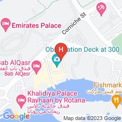 Mapa JUMEIRAH AT ETIHAD TOWERS