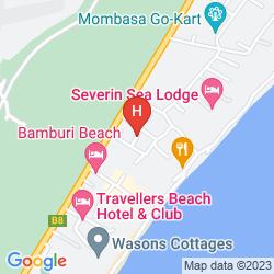 Mapa KENYA BAY