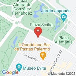 Mapa AWWA SUITES & SPA