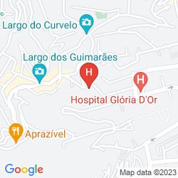 Mapa BELLAS ARTES GUEST HOUSE
