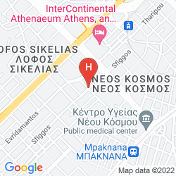 Mapa INTERCONTINENTAL ATHENAEUM ATHENS