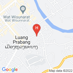 Mapa ANCIENT LUANG PRABANG HOTEL BANPHONGHEUANG