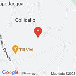Mapa AGRITURISMO VILLA VAL D'OLIVI