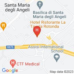 Mapa LA TAVOLA ROTONDA