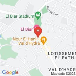 Mapa EL BIAR