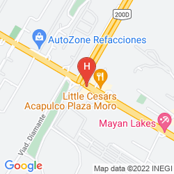 Mapa HOLIDAY INN ACAPULCO LA ISLA