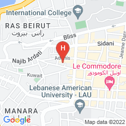 Mapa MOZART HOTEL