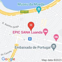 Mapa CONTINENTAL LUANDA