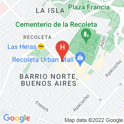 Mapa DAZZLER RECOLETA