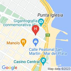 Mapa GRAN HOTEL MANILA