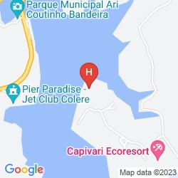 Mapa MABU CAPIVARI ECO RESORT