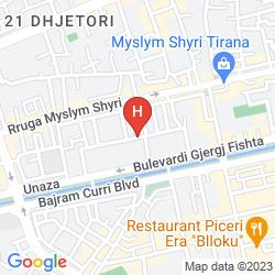 Mapa BRISTOL
