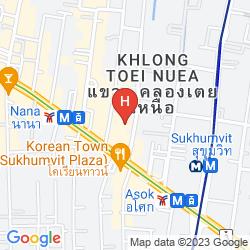 Mapa FOUR POINTS BY SHERATON BANGKOK, SUKHUMVIT 15