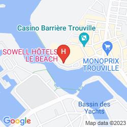 Mapa BEACH HOTEL