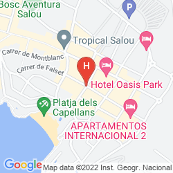 Mapa SANTA MONICA PLAYA