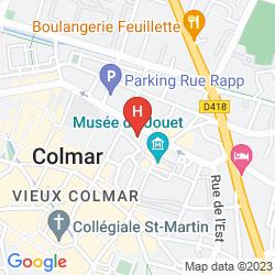 Mapa IBIS COLMAR CENTRE