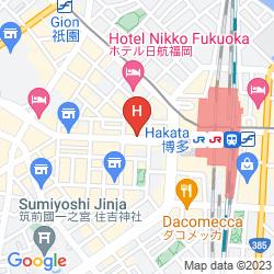 Mapa DUKES HAKATA
