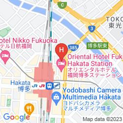 Mapa SUNROUTE HAKATA