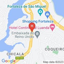 Mapa BAIA HOTEL