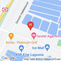 Mapa ARCADIA SPA EILAT HOTEL