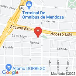Mapa CRILLON MENDOZA