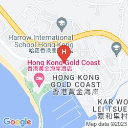 Mapa GOLD COAST
