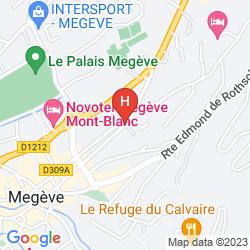 Mapa LA PRAIRIE