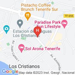 Mapa TENERIFE SUR