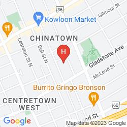 Mapa QUALITY HOTEL DOWNTOWN OTTAWA