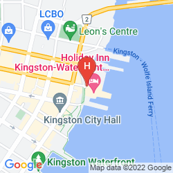 Mapa HOLIDAY INN KINGSTON WATERFRONT