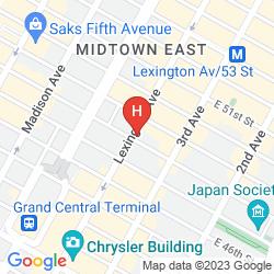 Mapa 48LEX NEW YORK