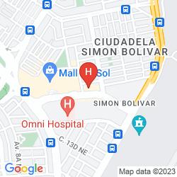 Mapa SONESTA HOTEL GUAYAQUIL