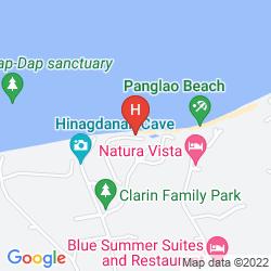 Mapa PANGLAO ISLAND NATURE RESORT & SPA