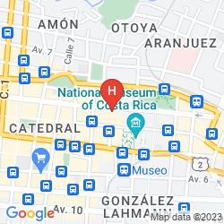 Mapa PENSION DE LA CUESTA
