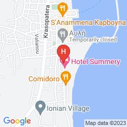 Mapa POSEIDON HOTEL