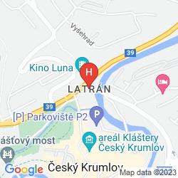 Mapa PENSION LOBO
