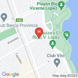 Mapa Ramada by Wyndham Buenos Aires