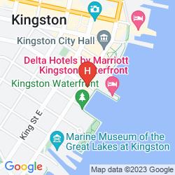 Mapa RADISSON HOTEL KINGSTON HARBOU