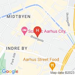 Mapa SCANDIC CITY