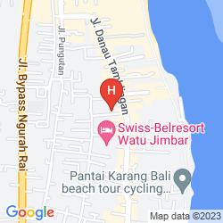 Mapa BUMAS HOTEL
