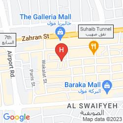 Mapa RUM HOTELS AL-WALEED