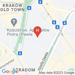 Mapa HOME HOTEL KRAKOW