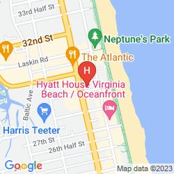 Mapa KNIGHTS INN AND SUITES VIRGINIA BEACH